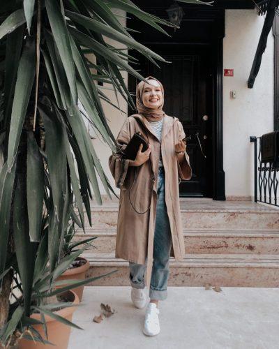 Chic Layering Style Ideas From Hijab Blogger Şüheda Türkoğlu