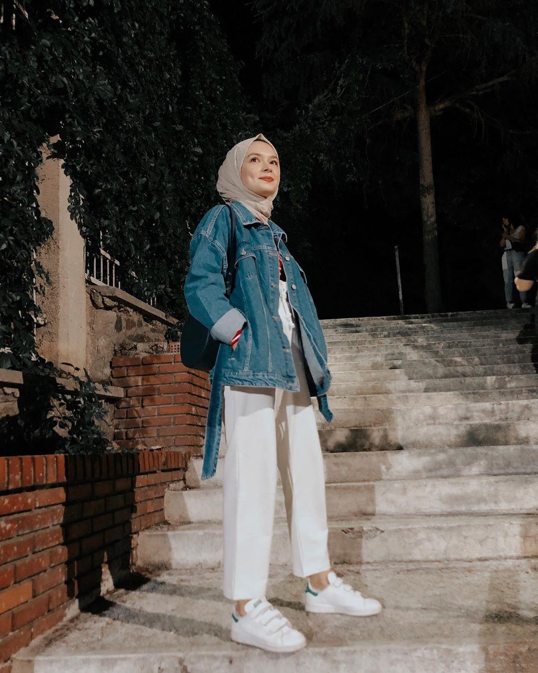 Hijab Layering Style