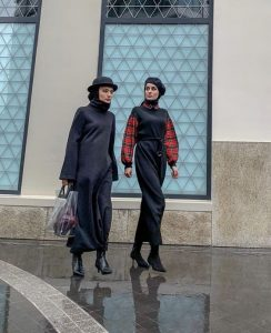 Winter Hijab Look Ideas With Stylish Hat