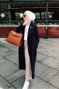 outfit hijab trend