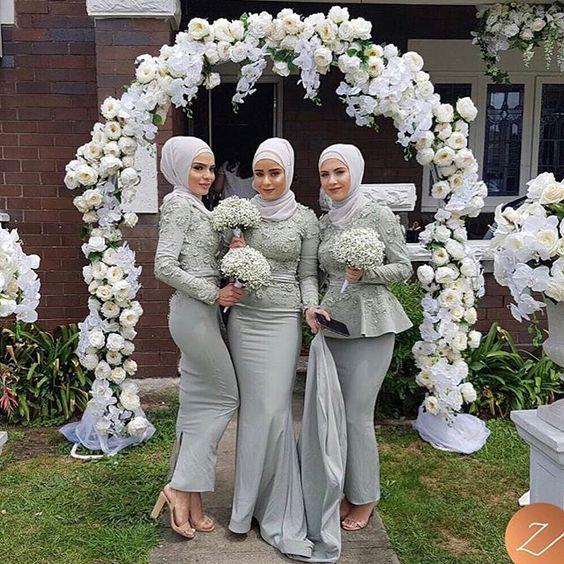 Green Pastel Bridesmaid