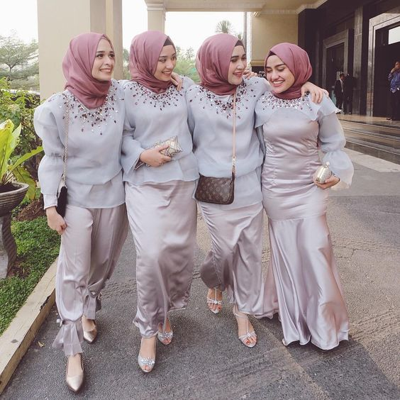 Purple Mauve Bridesmaid