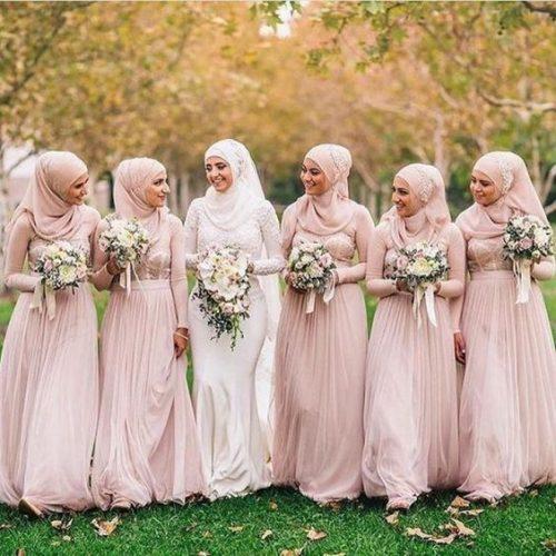 Sweet Pink Bridesmaid