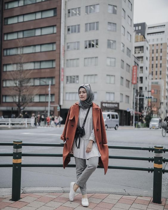 Cozy Hijab Looks For Winter Vacation , Hijab,style.com