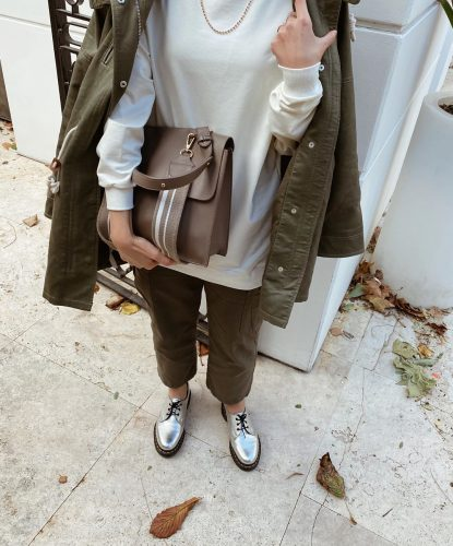 Chic Spring Layering Hijab Outfit Ideas