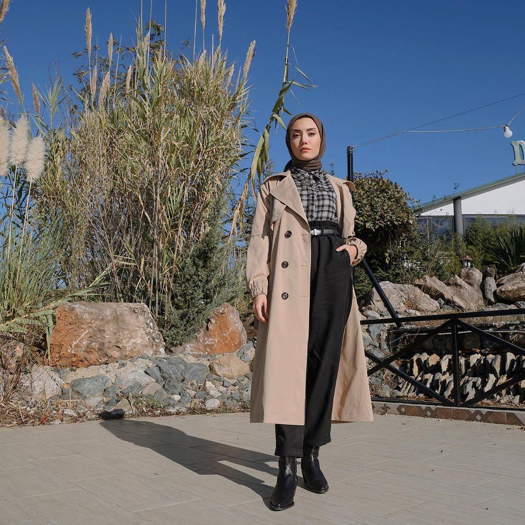Layering Hijab Outfit