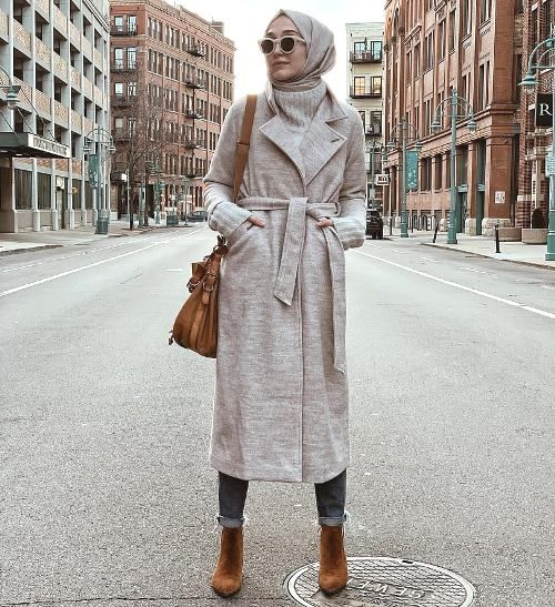 Hijab Trench Coat