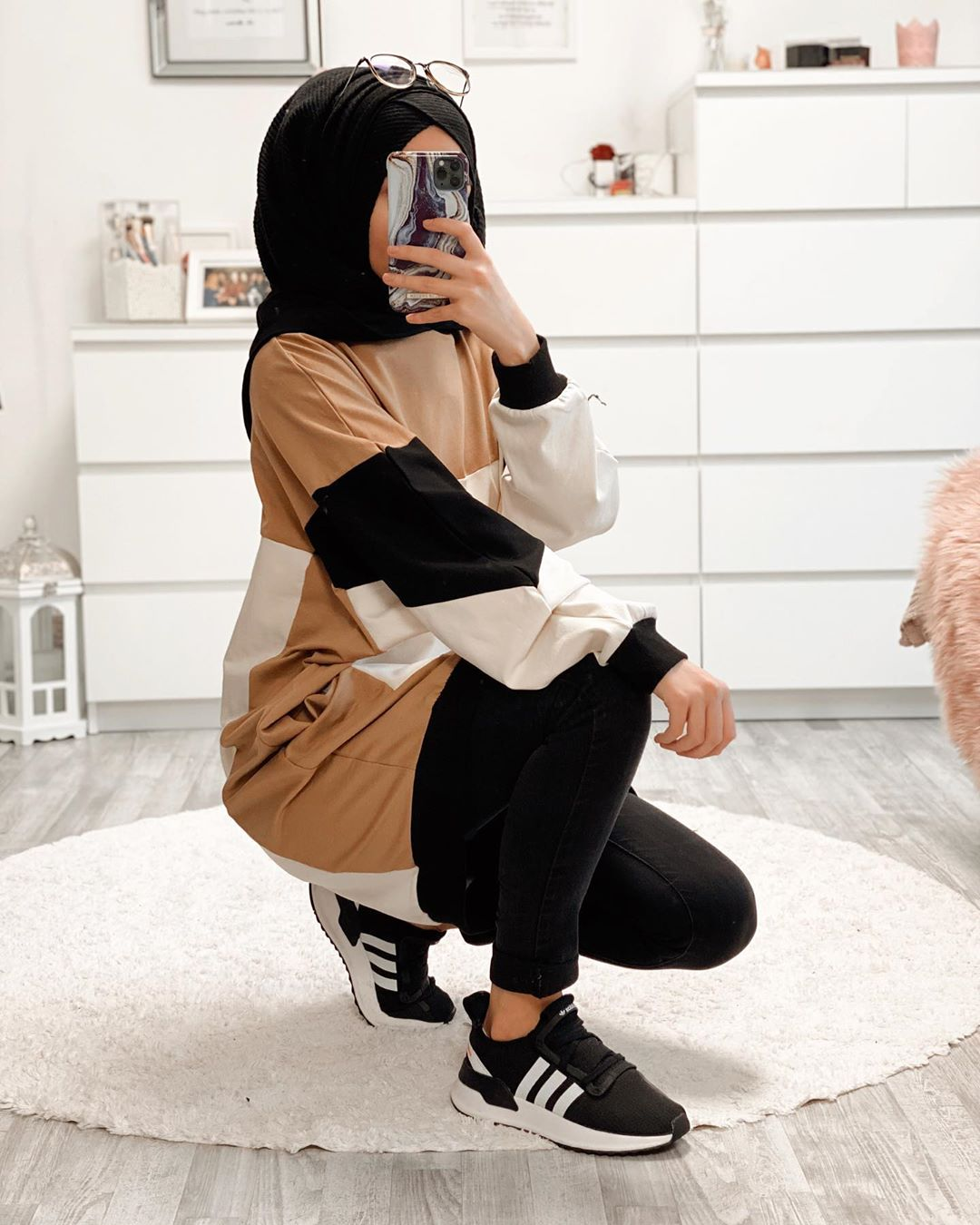 How to Style Hijab With Oversized Sweater This Spring