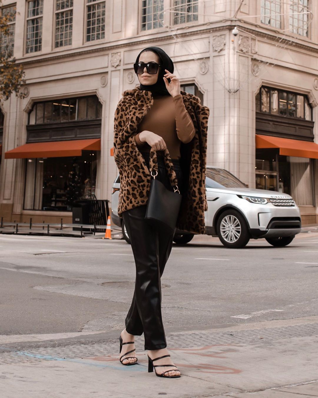 Parisian Hijab Style