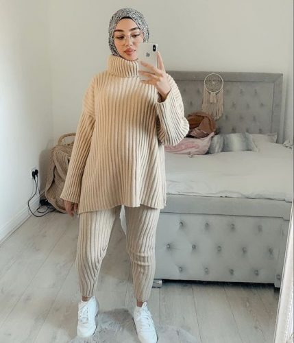 Style Ideas For Hijabis To Wear At Home 1