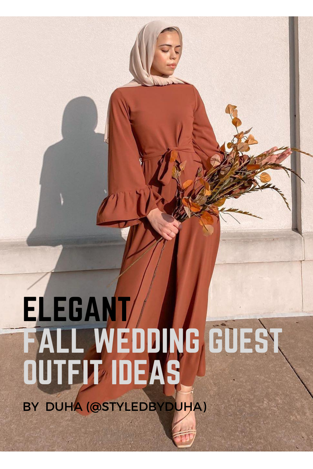 Elegant Fall Wedding Guest Outfit Ideas