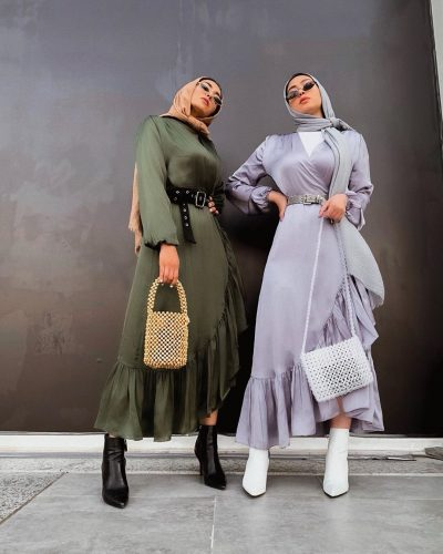 Best Match Hijab Outfit Ideas From KD Sister's Style