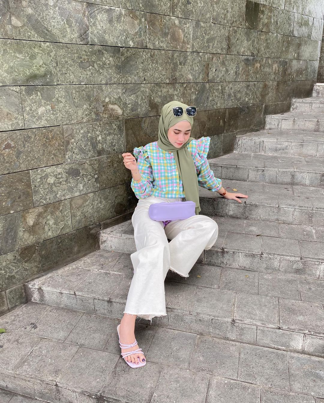 How To Style Hijab Outfit With Statement Blouses