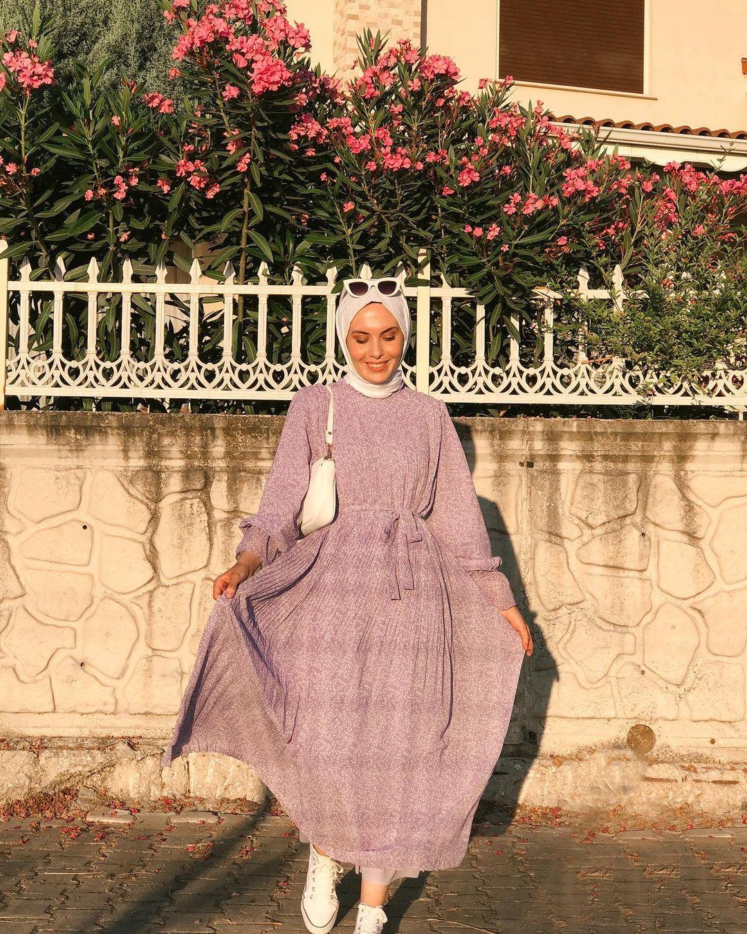 Tren Hijab Musim Semi 2021 Tampak Ide Maxi