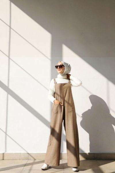 Casual Weekend Look Ideas For Hijab Girl
