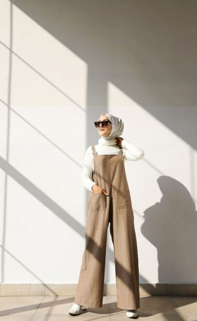Casual Weekend Look Ideas For Hijab Girl