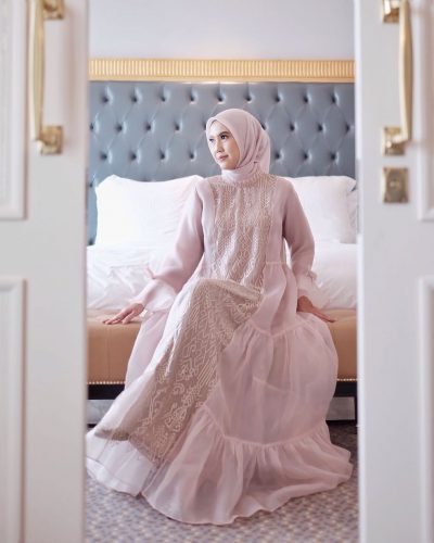 Trend Aesthetic Evening Dress For Eid Style Ideas