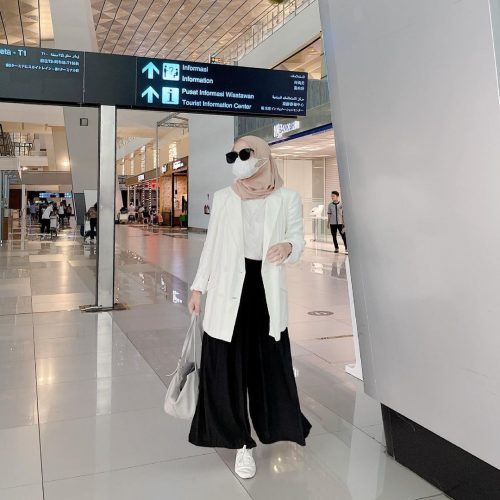 How to Style Blazer For Fashionable Hijab Looks