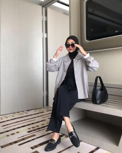 Casual Cozy Looks That Will Inspire Your Summer Hijab Outfit