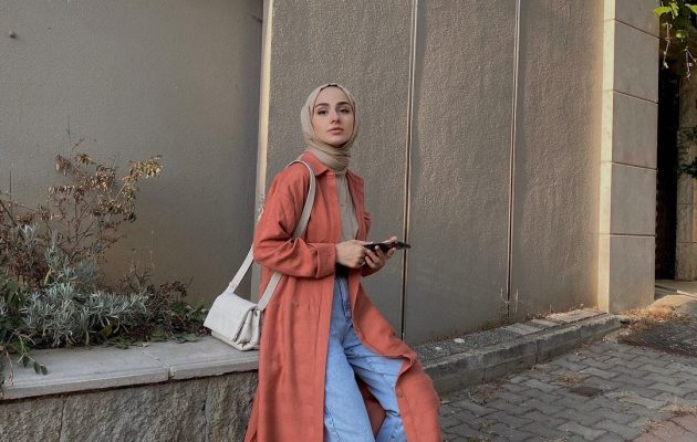 2021 Early Fall Hijab Outfit Ideas You Can Copy