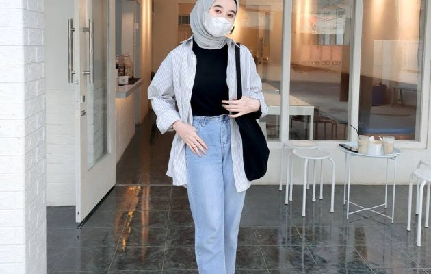 Fashionable Hijab Outfit That Will Inspire Back-To-Office Looks This Fall