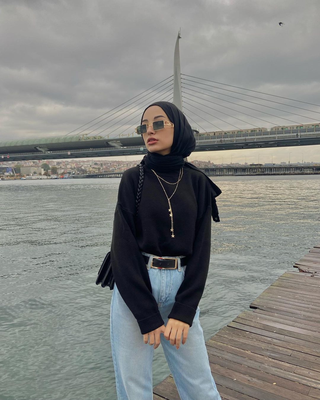 The Most Popular Necklace Trends For Hijab Fashion Girls